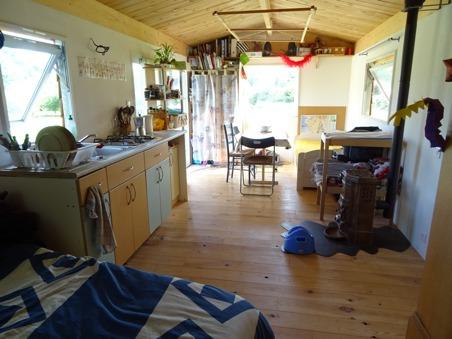 La cuisine et le séjour
