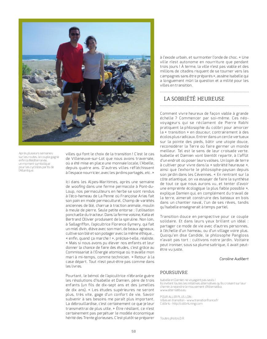 Textes et photos Caroline Audibert